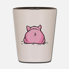 Funny Pig Shot Glass