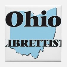 Ohio Librettist Tile Coaster