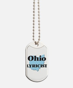 Ohio Lyricist Dog Tags