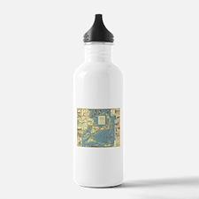Vintage Cape Cod Map ( Water Bottle