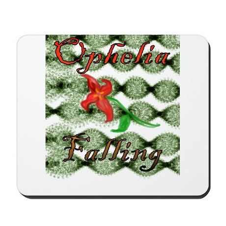 Ophelia Falling Mousepad