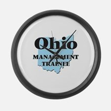 Ohio Management Trainee Large Wall Clock