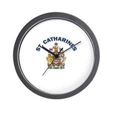 St. Catharines Coat of Arms Wall Clock