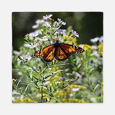 Sunshine Monarch Butterfly Queen Duvet