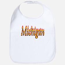 Michigan Flame Bib