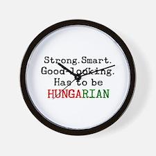 be hungarian Wall Clock