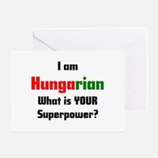 i am hungarian Greeting Card