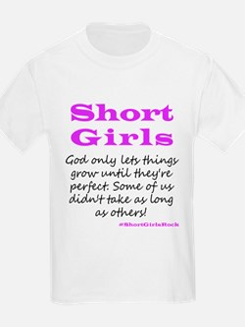 Funny Short girls T-Shirt
