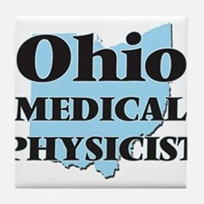 Ohio Medical Physicist Tile Coaster