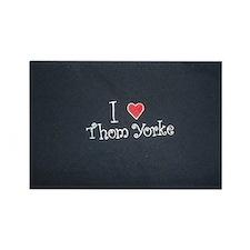 I Love Thom Yorke Rectangle Magnet