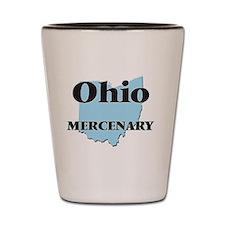 Ohio Mercenary Shot Glass
