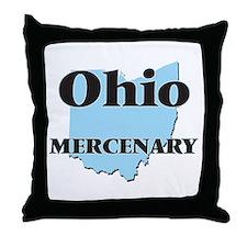 Ohio Mercenary Throw Pillow