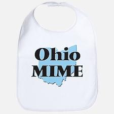Ohio Mime Bib