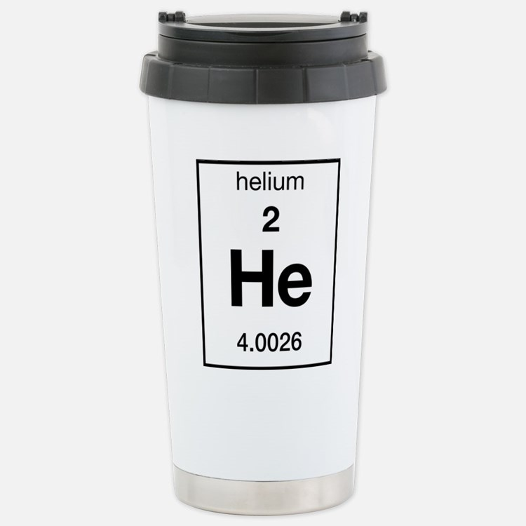 Cute Helium Travel Mug