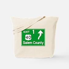 NJTP Logo-free Exit 1 Salem County Tote Bag