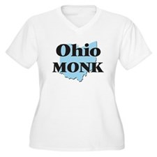 Ohio Monk Plus Size T-Shirt