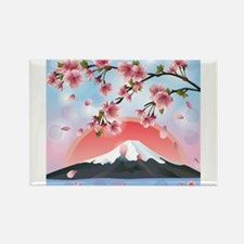 Cute Pretty japan Rectangle Magnet