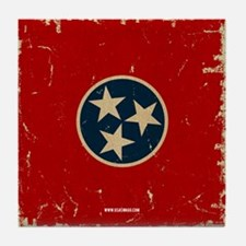TN Vintage Tile Coaster