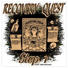 Recovery Quest (Step 1) Poster