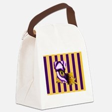 Louisiana State Tiger Eye 3 Canvas Lunch Bag
