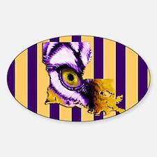 Louisiana State Tiger Eye 3 Decal