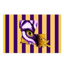 Louisiana State Tiger Eye Postcards (Package of 8)