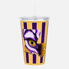 Louisiana State Tiger Acrylic Double-wall Tumbler