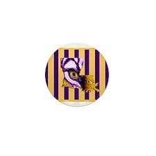Louisiana State Tiger Eye 3 Mini Button