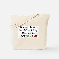 be jordanian Tote Bag