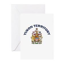 Yukon Territory Greeting Cards (Pk of 10)