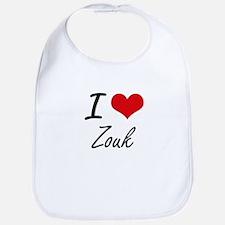 I Love ZOUK Bib