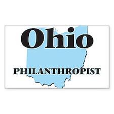 Ohio Philanthropist Decal