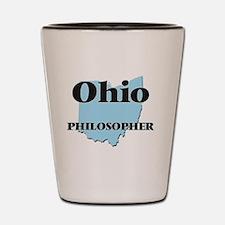 Ohio Philosopher Shot Glass