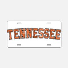 Tennessee Aluminum License Plate