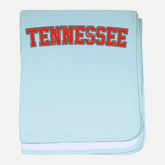 Tennessee baby blanket