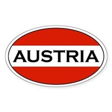 Austrian Decals Oval Decal