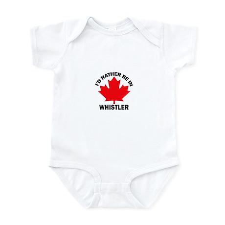 I'd Rather Be in Whistler Infant Bodysuit