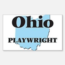 Ohio Playwright Decal