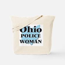 Ohio Police Woman Tote Bag