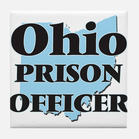 Ohio Prison Officer Tile Coaster