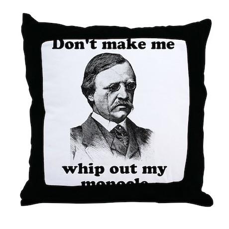 Monocle Throw Pillow