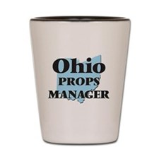 Ohio Props Manager Shot Glass