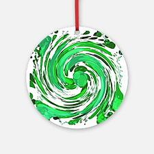 Irish Cream Round Ornament