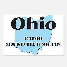 Ohio Radio Sound Technici Postcards (Package of 8)
