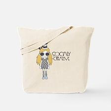 I Am Socially Creative Tote Bag