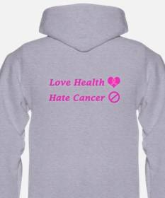 Ribbon Heart Charity Design Hoodie