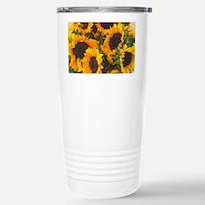 Cute Sunflower Travel Mug
