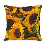 Sunflower Woven Pillows