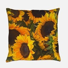 Unique Yellow flower Everyday Pillow