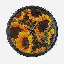Cute Yellow Large Wall Clock